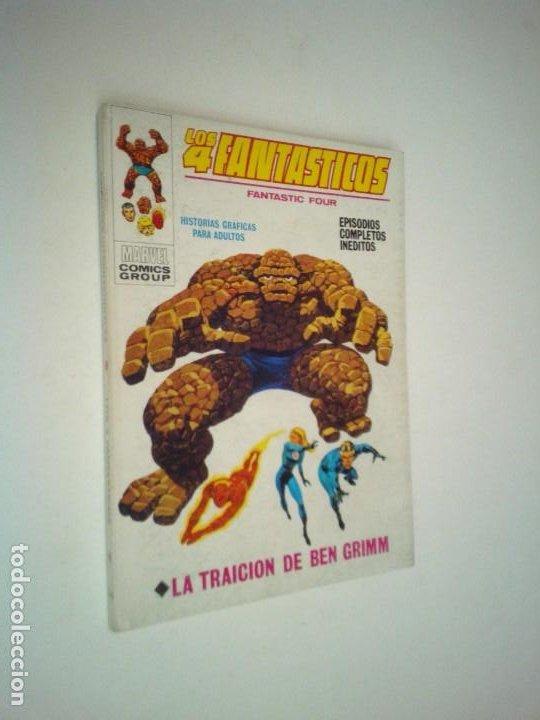 LOS 4 FANTASTICOS - VERTICE - VOLUMEN 1 - NUMERO 34 - MUY BUEN ESTADO - GORBAUD (Tebeos y Comics - Vértice - 4 Fantásticos)