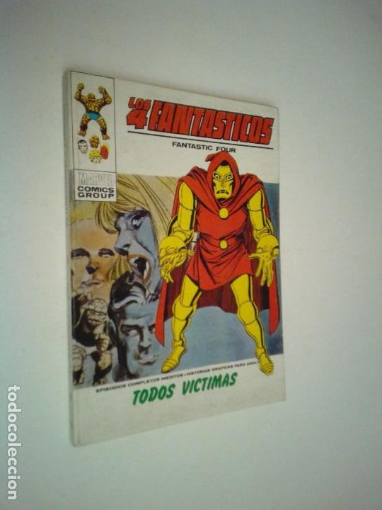 LOS 4 FANTASTICOS - VERTICE - VOLUMEN 1 - NUMERO 43 - MUY BUEN ESTADO - NUEVO - GORBAUD (Tebeos y Comics - Vértice - 4 Fantásticos)