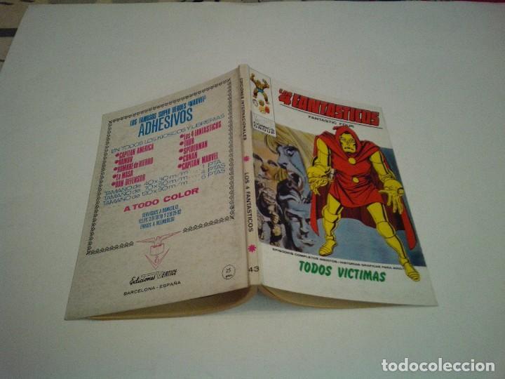 Cómics: LOS 4 FANTASTICOS - VERTICE - VOLUMEN 1 - NUMERO 43 - MUY BUEN ESTADO - NUEVO - GORBAUD - Foto 5 - 244602000