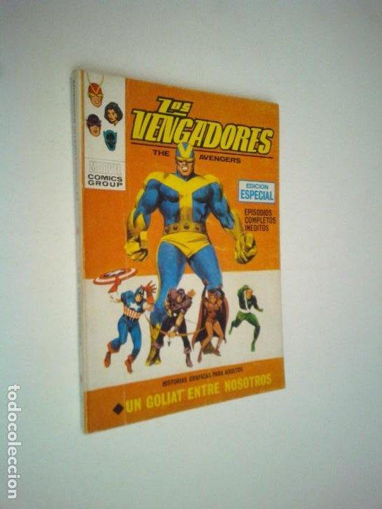 LOS VENGADORES 12 - VERTICE - VOLUMEN 1 - MUY BUEN ESTADO - EXCELENTE - GORBAUD (Tebeos y Comics - Vértice - Vengadores)