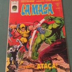 Cómics: LA MASA VOLUMEN 3 NUMERO 40 VERTICE EL LOBATO ATACA 1980. Lote 244655185