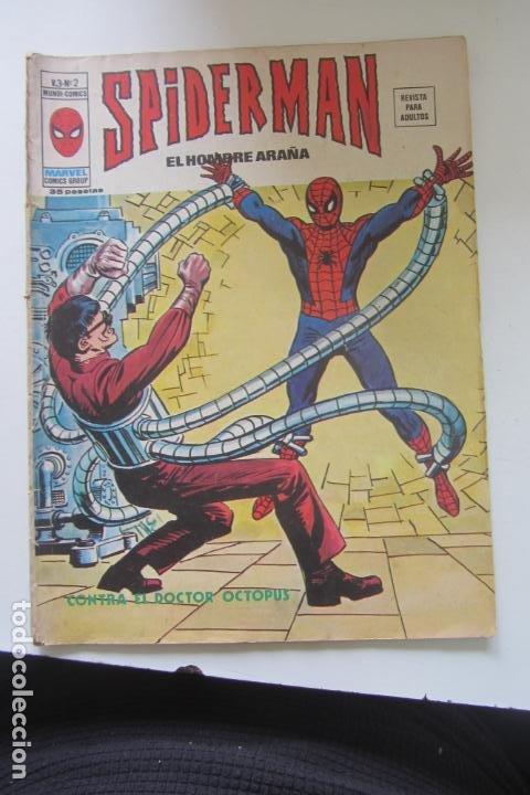 SPIDERMAN Nº 2 V 3 VERTICE MUNDI COMICS E8X1 (Tebeos y Comics - Vértice - V.3)