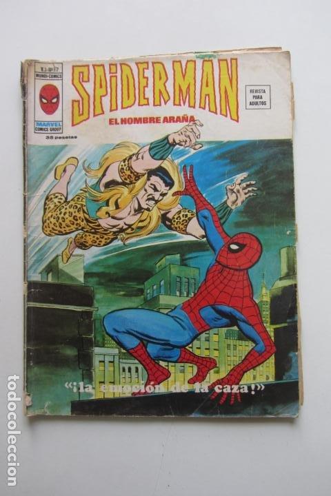 SPIDERMAN Nº 17 V 3 VERTICE MUNDI COMICS E8X1 (Tebeos y Comics - Vértice - V.3)