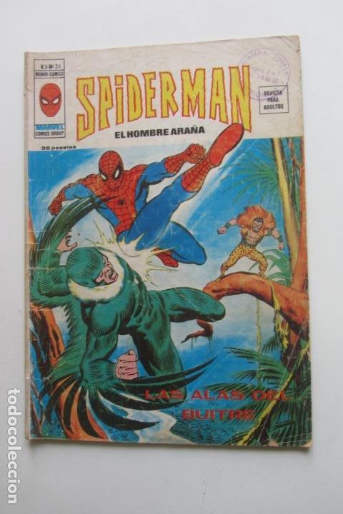 SPIDERMAN Nº 24 V 3 VERTICE MUNDI COMICS E8X1 (Tebeos y Comics - Vértice - V.3)