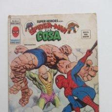 Cómics: SUPER HEROES VOL. 2 Nº. 61. SPIDERMAN Y LA COSA VERTICE MUNDI COMICS E8X1. Lote 244719210