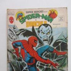 Comics: SUPER HEROES VOL. 2 Nº. 30 SPIDERMAN Y DRACULA VERTICE MUNDI COMICS E8X1. Lote 244719550