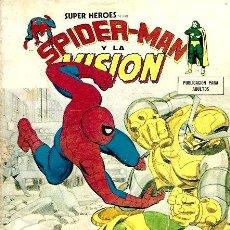 Cómics: SPIDERMAN Y LA VISION VERTICE VOL. 1 Nº 10 : MONSTROIDE, EL IRRESISTIBLE. Lote 244806315
