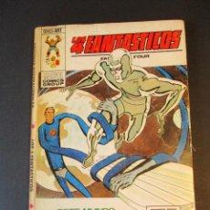 Cómics: 4 FANTASTICOS, LOS (1969, VERTICE) -V.1- 61 · 15-III-1974 · ESTE MUNDO ESCLAVIZADO. Lote 244891250