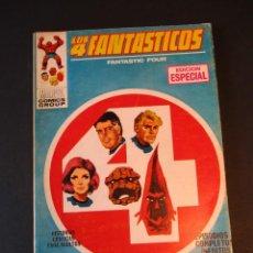 Cómics: 4 FANTASTICOS, LOS (1969, VERTICE) -V.1- 11 · II-1970 · SE PRESENTA EL ABORRECEDOR. Lote 244898160