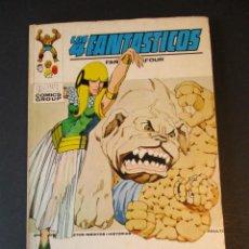 Cómics: 4 FANTASTICOS, LOS (1969, VERTICE) -V.1- 59 · II-1974 · UNIDOS...O MUERTOS. Lote 244899510