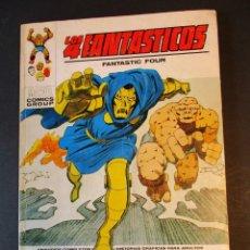 Cómics: 4 FANTASTICOS, LOS (1969, VERTICE) -V.1- 58 · I-1974 · LA HORA FATAL. Lote 244902695