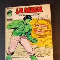 Cómics: HULK (1970, VERTICE) -LA MASA- 35 · 1974 · LA VUELTA DEL HOMBRE DE COBALTO. Lote 244904055