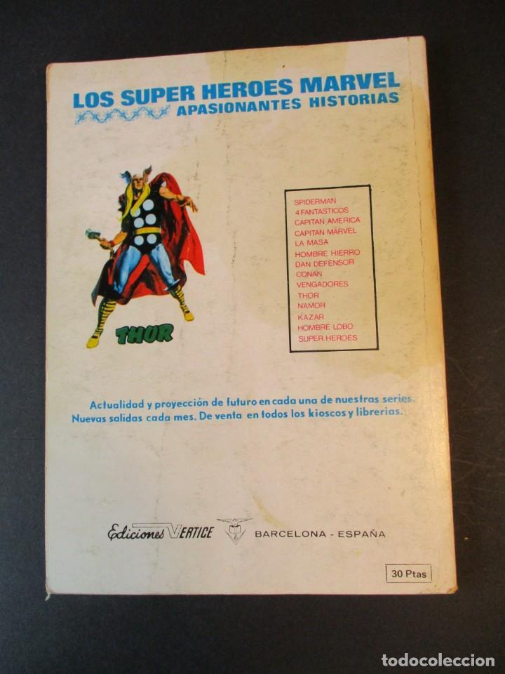 Cómics: HULK (1970, VERTICE) -LA MASA- 35 · 1974 · LA VUELTA DEL HOMBRE DE COBALTO - Foto 2 - 244904055