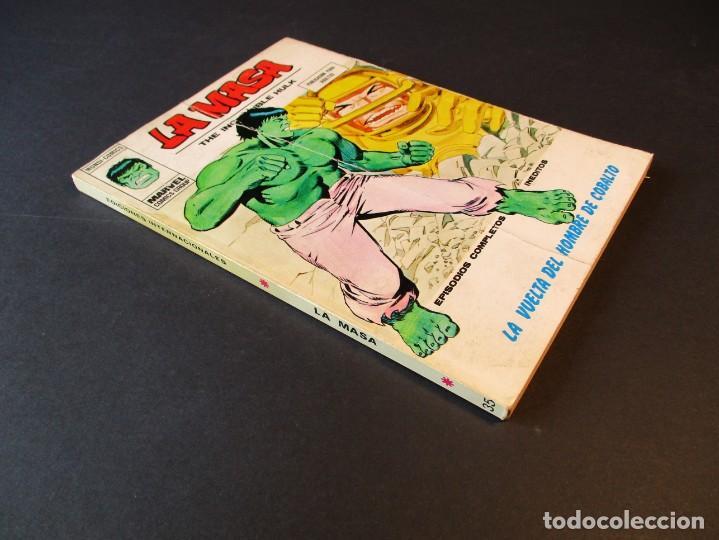 Cómics: HULK (1970, VERTICE) -LA MASA- 35 · 1974 · LA VUELTA DEL HOMBRE DE COBALTO - Foto 3 - 244904055