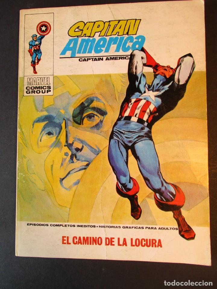 CAPITAN AMERICA (1969, VERTICE) 31 · IV-1972 · EL CAMINO DE LA LOCURA (Tebeos y Comics - Vértice - Capitán América)
