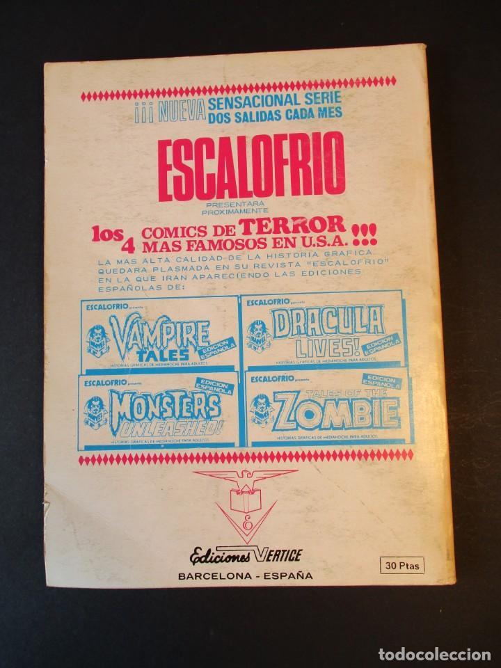 Cómics: CAPITAN AMERICA (1969, VERTICE) 31 · IV-1972 · EL CAMINO DE LA LOCURA - Foto 2 - 244954090