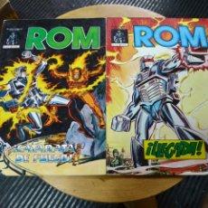 Cómics: ROM LOTE DE 2N° 1-2 (VÉRTICE). Lote 245008260