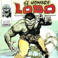 Comics : EL HOMBRE LOBO VERTICE VOL. 1 Nº 1 : LA NOCHE DEL LOBO HUMANO. Lote 245012925