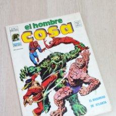 Cómics: MUY BUEN ESTADO EL HOMBRE COSA 9 COMICS VERTICE. Lote 245013575