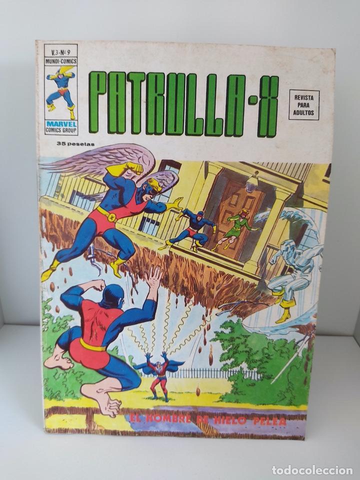 LA PATRULLA X - VOLUMEN 3 - NUMEROS 9 - EDICIONES VERTICE (Tebeos y Comics - Vértice - Patrulla X)