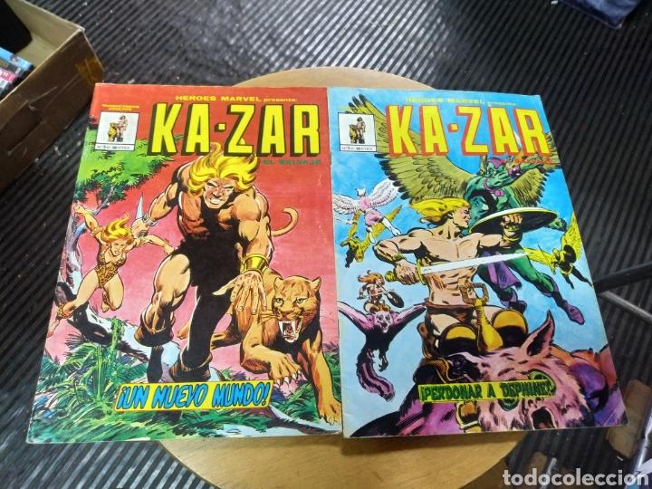 KA-ZAR LOTE DE 2N° 2-3 (VÉRTICE) (Tebeos y Comics - Vértice - Surco / Mundi-Comic)