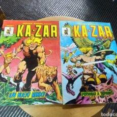 Cómics: KA-ZAR LOTE DE 2N° 2-3 (VÉRTICE). Lote 245202685