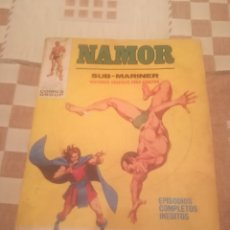Fumetti: NAMOR. CATASTROFE MENTAL. Nº 20. EDICIONES VÉRTICE 1972.. Lote 245493335