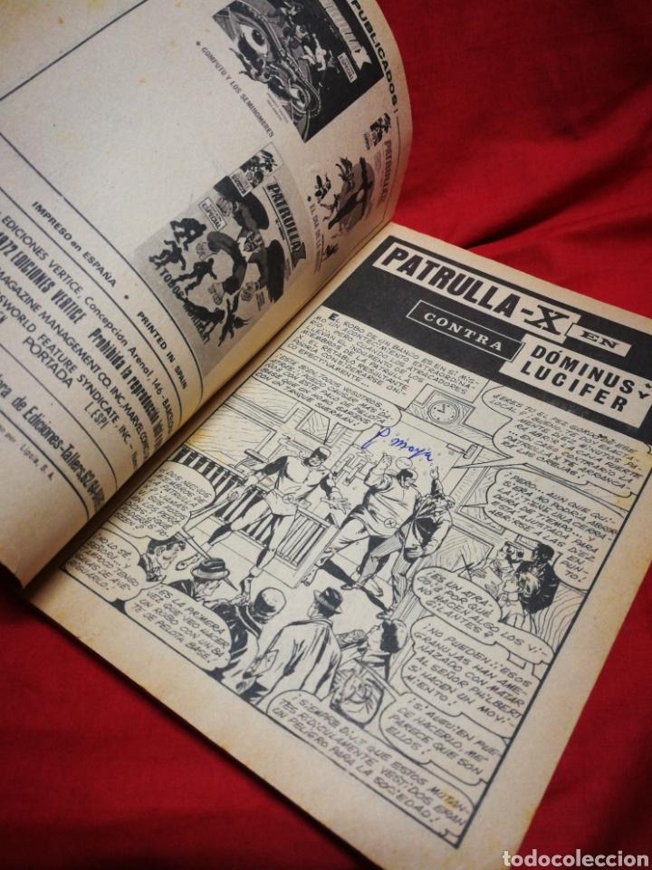 Cómics: PATRULLA X (X-MEN)-EDICIONES VÉRTICE (COMICS GROUP), N°9.EDICION ESPECIAL, TACO. 1974. - Foto 3 - 245548220