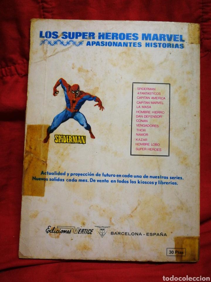 Cómics: PATRULLA X (X-MEN)-EDICIONES VÉRTICE (COMICS GROUP), N°9.EDICION ESPECIAL, TACO. 1974. - Foto 5 - 245548220