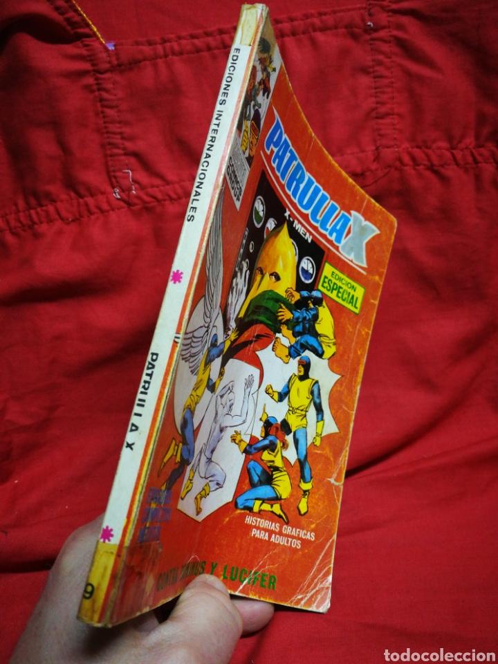 Cómics: PATRULLA X (X-MEN)-EDICIONES VÉRTICE (COMICS GROUP), N°9.EDICION ESPECIAL, TACO. 1974. - Foto 6 - 245548220