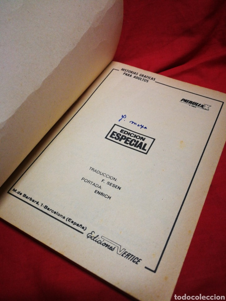 Cómics: PATRULLA X (X-MEN)-EDICIONES VÉRTICE (COMICS GROUP), N°10.EDICION ESPECIAL, TACO. 1970. - Foto 2 - 245548595