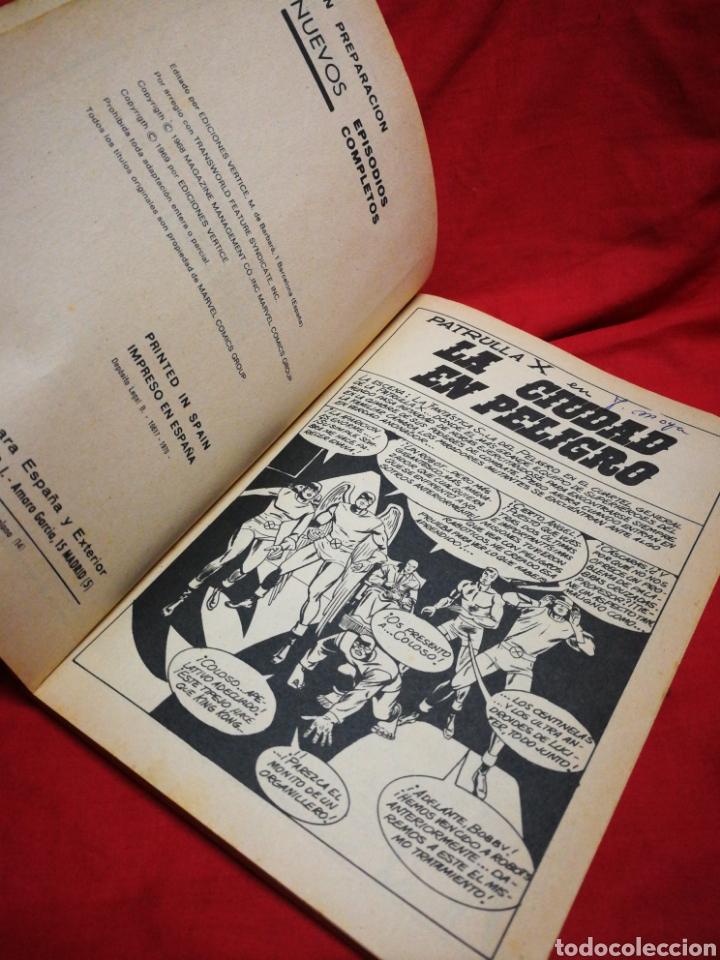 Cómics: PATRULLA X (X-MEN)-EDICIONES VÉRTICE (COMICS GROUP), N°10.EDICION ESPECIAL, TACO. 1970. - Foto 3 - 245548595