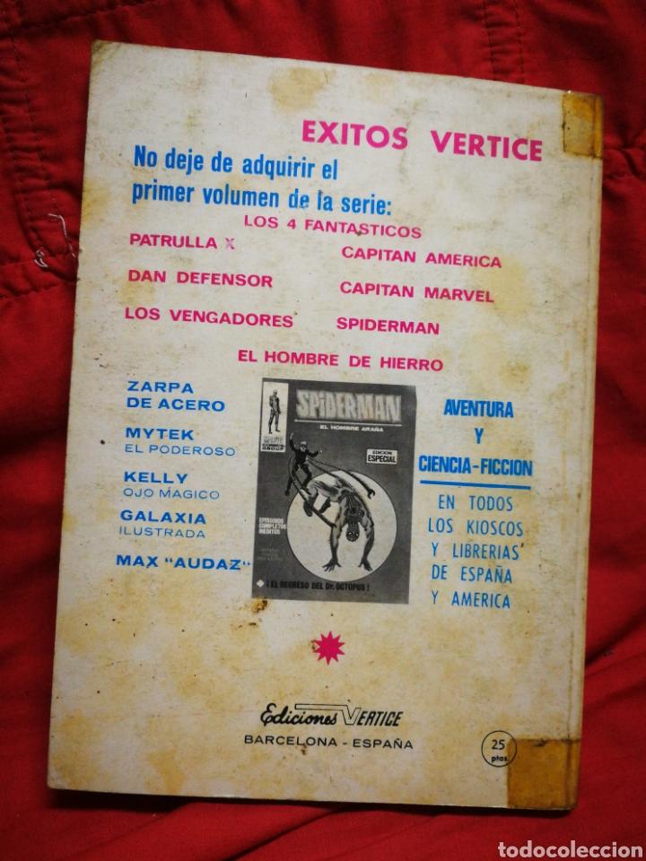 Cómics: PATRULLA X (X-MEN)-EDICIONES VÉRTICE (COMICS GROUP), N°10.EDICION ESPECIAL, TACO. 1970. - Foto 4 - 245548595