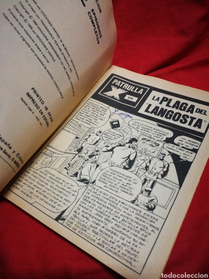 Cómics: PATRULLA X (X-MEN)-EDICIONES VÉRTICE (COMICS GROUP), N°11.EDICION ESPECIAL, TACO. 1970. - Foto 3 - 245549300