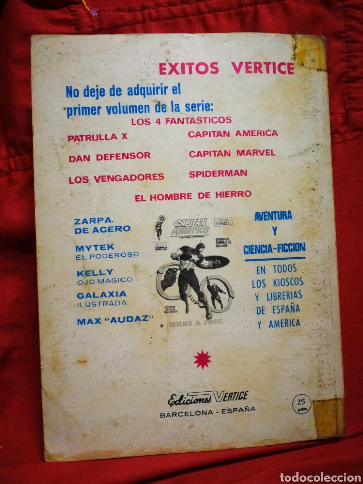 Cómics: PATRULLA X (X-MEN)-EDICIONES VÉRTICE (COMICS GROUP), N°11.EDICION ESPECIAL, TACO. 1970. - Foto 4 - 245549300
