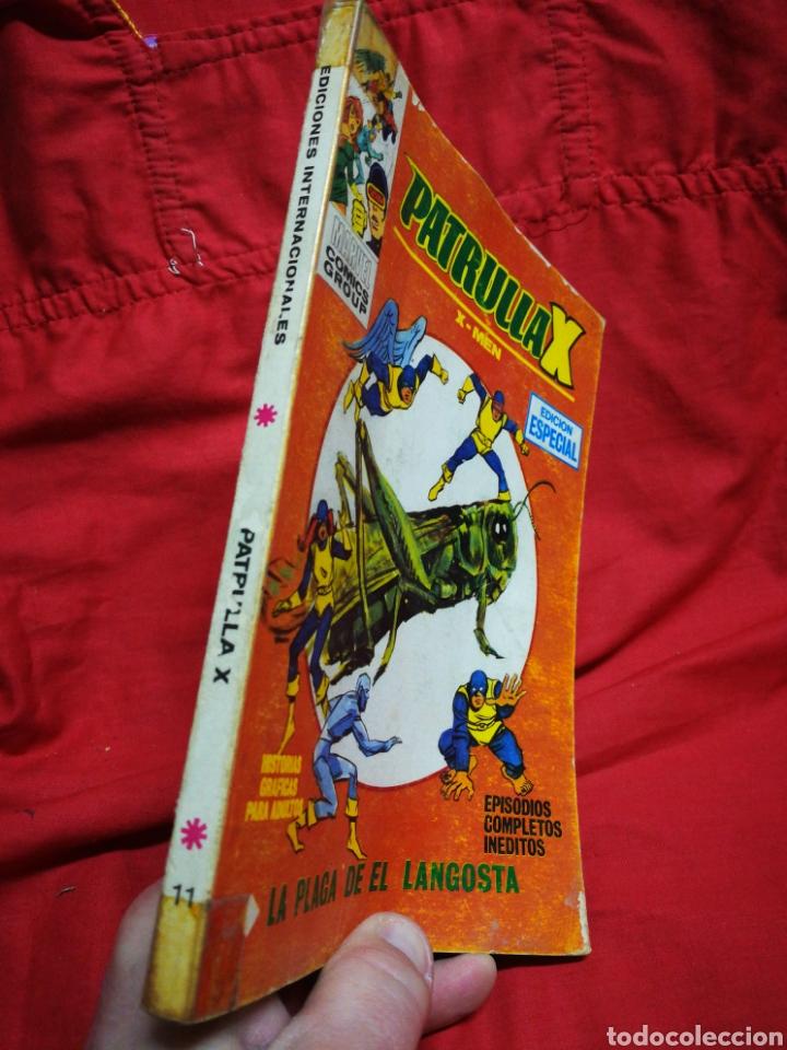 Cómics: PATRULLA X (X-MEN)-EDICIONES VÉRTICE (COMICS GROUP), N°11.EDICION ESPECIAL, TACO. 1970. - Foto 5 - 245549300