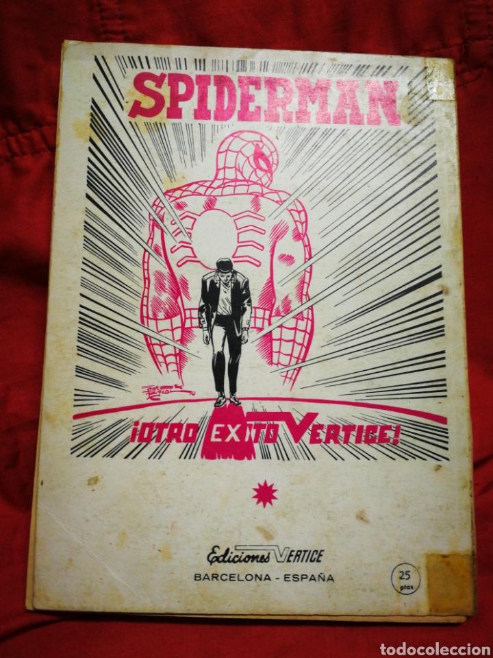 Cómics: PATRULLA X (X-MEN)-EDICIONES VÉRTICE (COMICS GROUP), N°12.EDICION ESPECIAL, TACO. 1970. - Foto 4 - 245552775