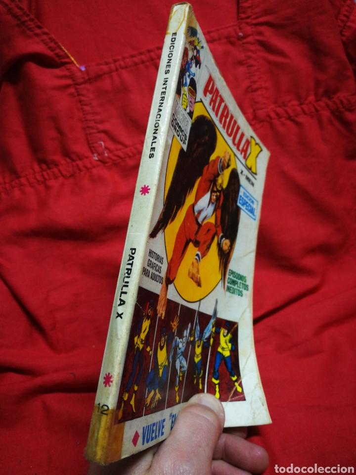 Cómics: PATRULLA X (X-MEN)-EDICIONES VÉRTICE (COMICS GROUP), N°12.EDICION ESPECIAL, TACO. 1970. - Foto 5 - 245552775