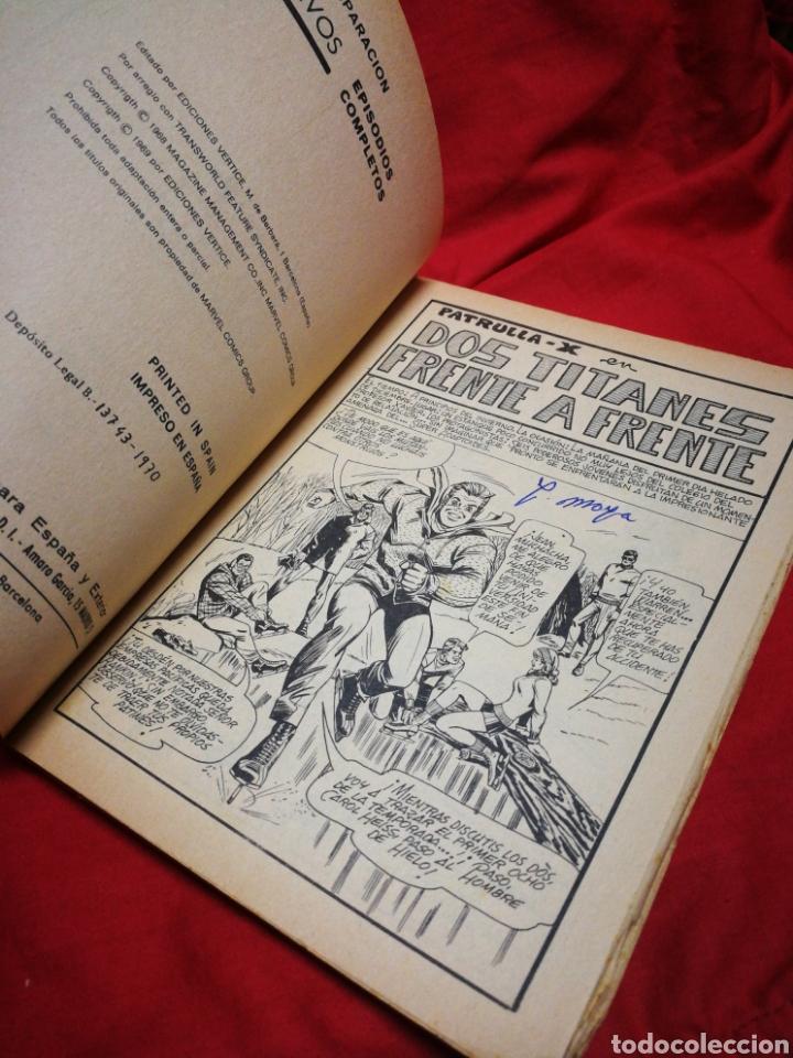 Cómics: PATRULLA X (X-MEN)-EDICIONES VÉRTICE (COMICS GROUP), N°13.EDICION ESPECIAL, TACO. 1970. - Foto 3 - 245553800