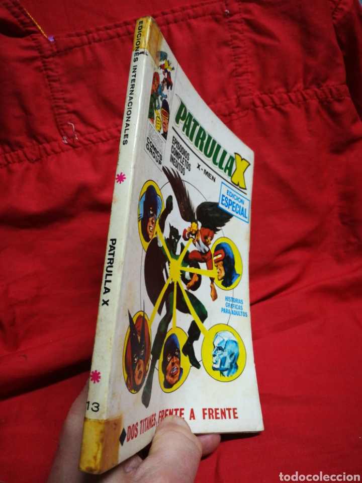 Cómics: PATRULLA X (X-MEN)-EDICIONES VÉRTICE (COMICS GROUP), N°13.EDICION ESPECIAL, TACO. 1970. - Foto 5 - 245553800