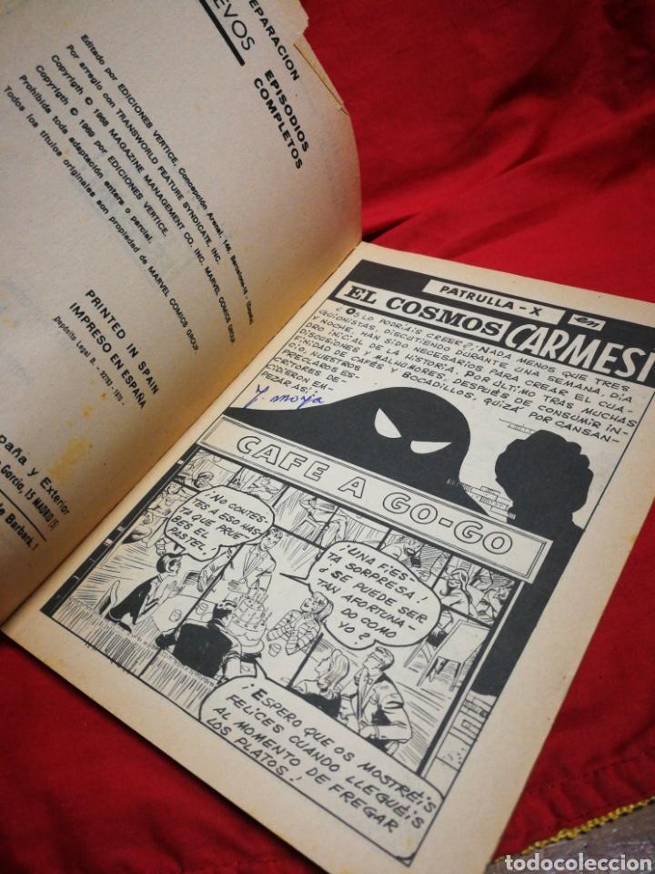 Cómics: PATRULLA X (X-MEN)-EDICIONES VÉRTICE (COMICS GROUP), N°14.EDICION ESPECIAL, TACO. 1970. - Foto 3 - 245554280