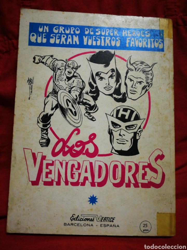 Cómics: PATRULLA X (X-MEN)-EDICIONES VÉRTICE (COMICS GROUP), N°14.EDICION ESPECIAL, TACO. 1970. - Foto 4 - 245554280