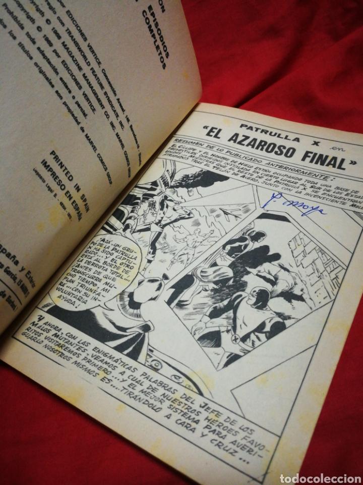 Cómics: PATRULLA X (X-MEN)-EDICIONES VÉRTICE (COMICS GROUP), N°18.EDICION ESPECIAL, TACO. 1970. - Foto 3 - 245557070