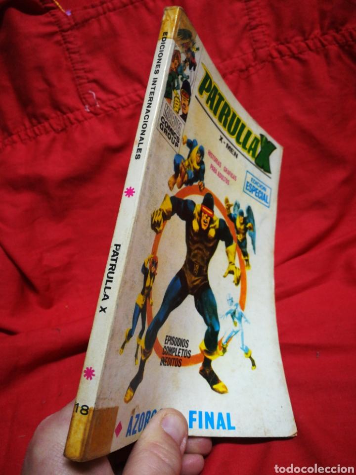 Cómics: PATRULLA X (X-MEN)-EDICIONES VÉRTICE (COMICS GROUP), N°18.EDICION ESPECIAL, TACO. 1970. - Foto 5 - 245557070