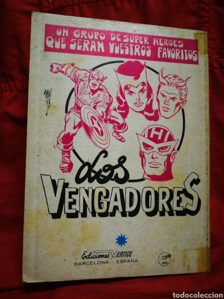 Cómics: PATRULLA X (X-MEN)-EDICIONES VÉRTICE (COMICS GROUP), N°19.EDICION ESPECIAL, TACO. 1970. - Foto 5 - 245557710