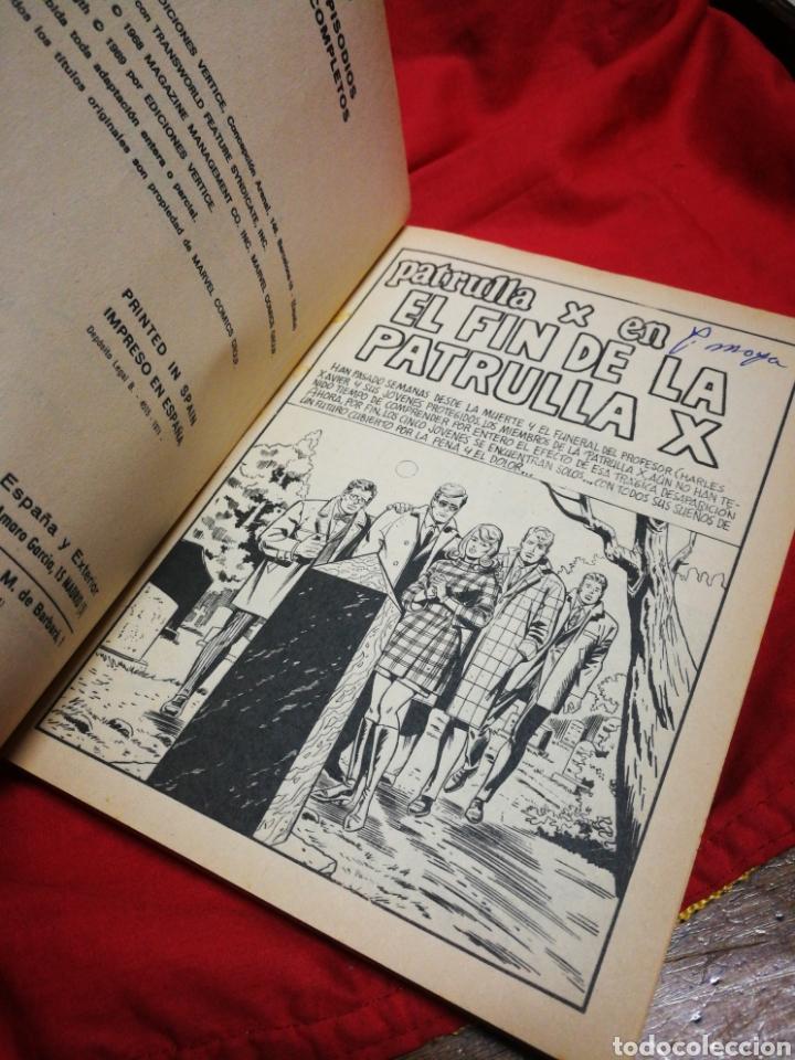 Cómics: PATRULLA X (X-MEN)-EDICIONES VÉRTICE (COMICS GROUP), N°20.EDICION ESPECIAL, TACO. 1971. - Foto 3 - 245558090