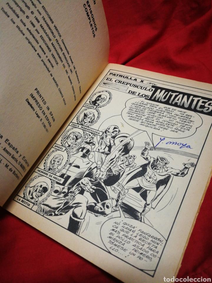 Cómics: PATRULLA X (X-MEN)-EDICIONES VÉRTICE (COMICS GROUP), N°23.EDICION ESPECIAL, TACO. 1971. - Foto 3 - 245617295