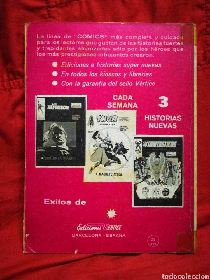 Cómics: PATRULLA X (X-MEN)-EDICIONES VÉRTICE (COMICS GROUP), N°23.EDICION ESPECIAL, TACO. 1971. - Foto 4 - 245617295