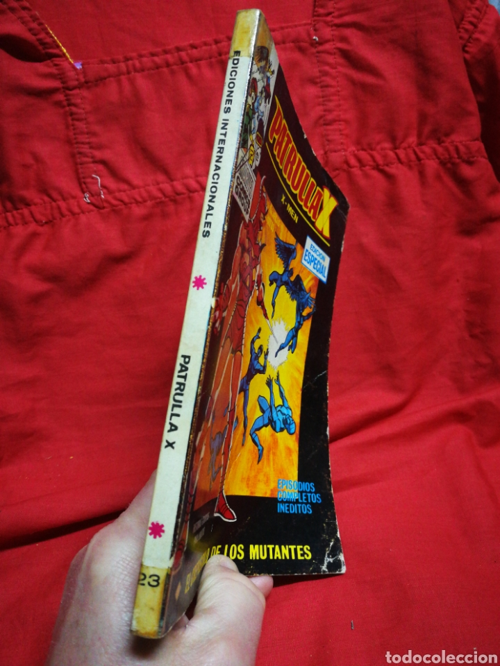 Cómics: PATRULLA X (X-MEN)-EDICIONES VÉRTICE (COMICS GROUP), N°23.EDICION ESPECIAL, TACO. 1971. - Foto 5 - 245617295