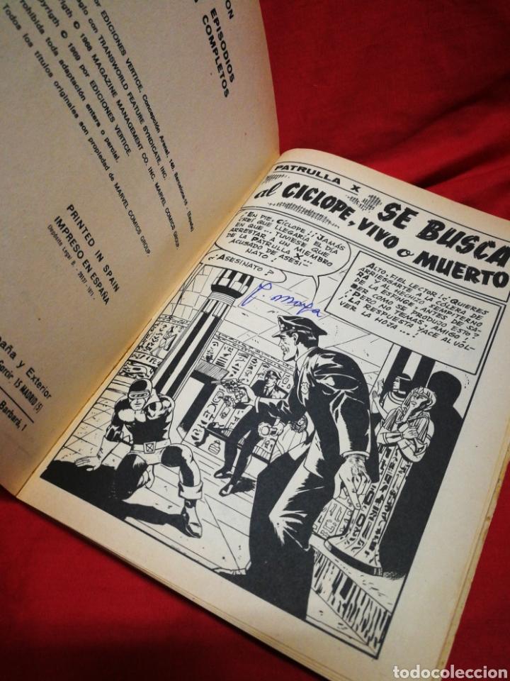 Cómics: PATRULLA X (X-MEN)-EDICIONES VÉRTICE (COMICS GROUP), N°24.EDICION ESPECIAL, TACO. 1971. - Foto 3 - 245617695